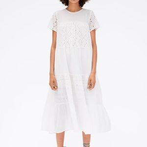 GORGEOUS ZARA NWT Openwork Embroidery Dress